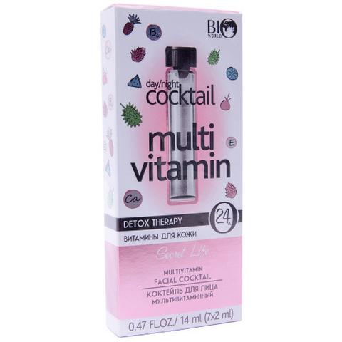 Bio World Secret Life Коктейль для лица мультивитаминный 7*2мл