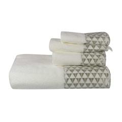 Полотенце 69х127 Avanti Diamonte белое