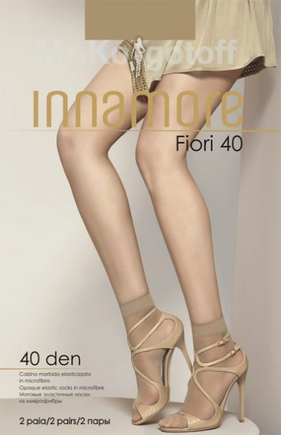 Носки Innamore Fiore Microfibra 40 (2 пары)