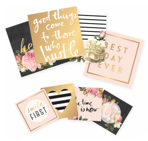 Карточки для ежедневника и PL-Heidi Swapp Memory Planner Pocket Cards- 24шт