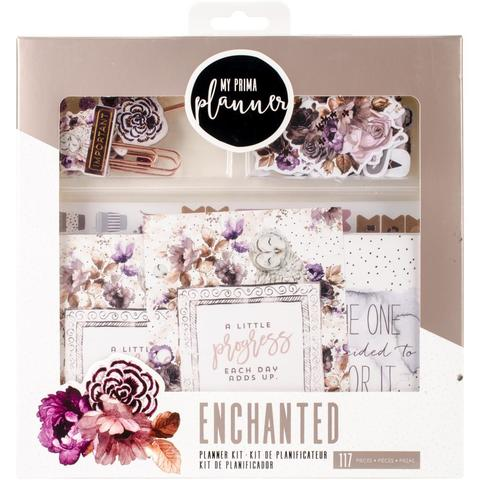 Набор для ежедневника My Prima Planner Insert & Embellishments Kit Midnight Bloom