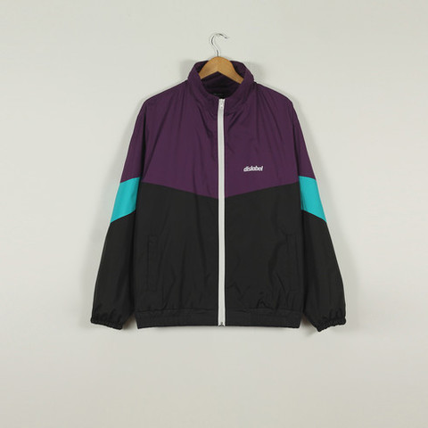 КУРТКА DISLABEL RETRO PURPLE/BLACK