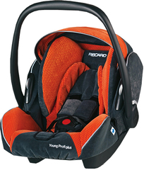 Детское кресло RECARO Young Profi plus (материал верха Topline Microfibre Grey/Pepper)