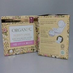 Прокладки на каждый день (Специальная серия), Organyc, в индивид.упаковке,1 капля, 24 шт.