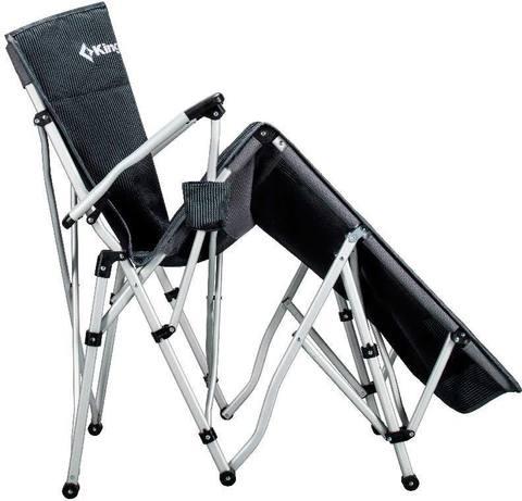 шезлонг кемпинговый Kingcamp Alu Lying chair (76x168x50/82cм)