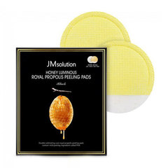 JMsolution Honey Luminous Royal Propolis Peeling Pads - Пилинг-пады с экстрактом прополиса