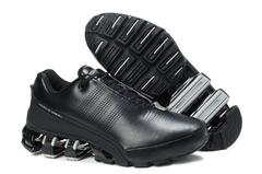 Adidas Porsche Design Black White Leather One