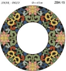 Эскиз для росписи, Зеркало диаметр-45см, SMAR-ZBK-15