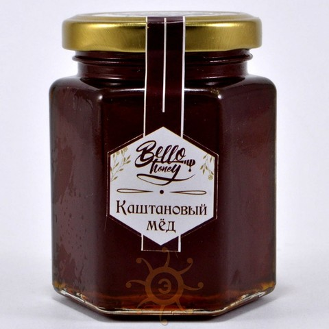 Мёд каштановый BelloHoney, 300г