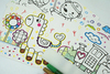 """026_2367 Набор (4 шт.) для пальчикового рисования """"Pink"""""""