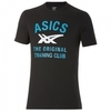 Футболка Asics SS Stripes Tee мужская black