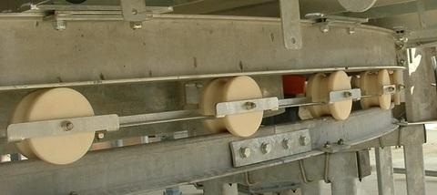 внешняя | Нейлоновые колеса на платформе Карусели, козы