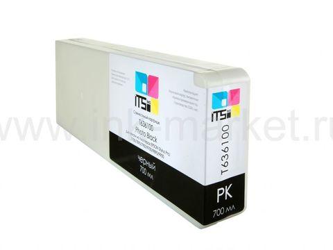 Совместимый картридж ITSinks для Epson Stylus Pro 7700/9700/7890/9890/9900 Black 700 ml Pigment (C13T636100)