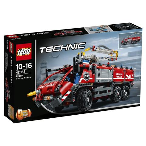 LEGO Technic: Автомобиль спасательной службы 42068 — Airport Rescue Vehicle — Лего Техник