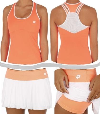 Женская майка и шорты теннисные LOTTO Nixia