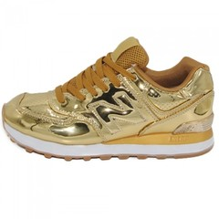 Женские New Balance 574 Gold Lacquer