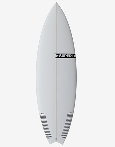 "Серфборд SUPRBRAND TAZER 6'1"" X 20 1/2 X 2 5/8 FUTURES 5 FINS"