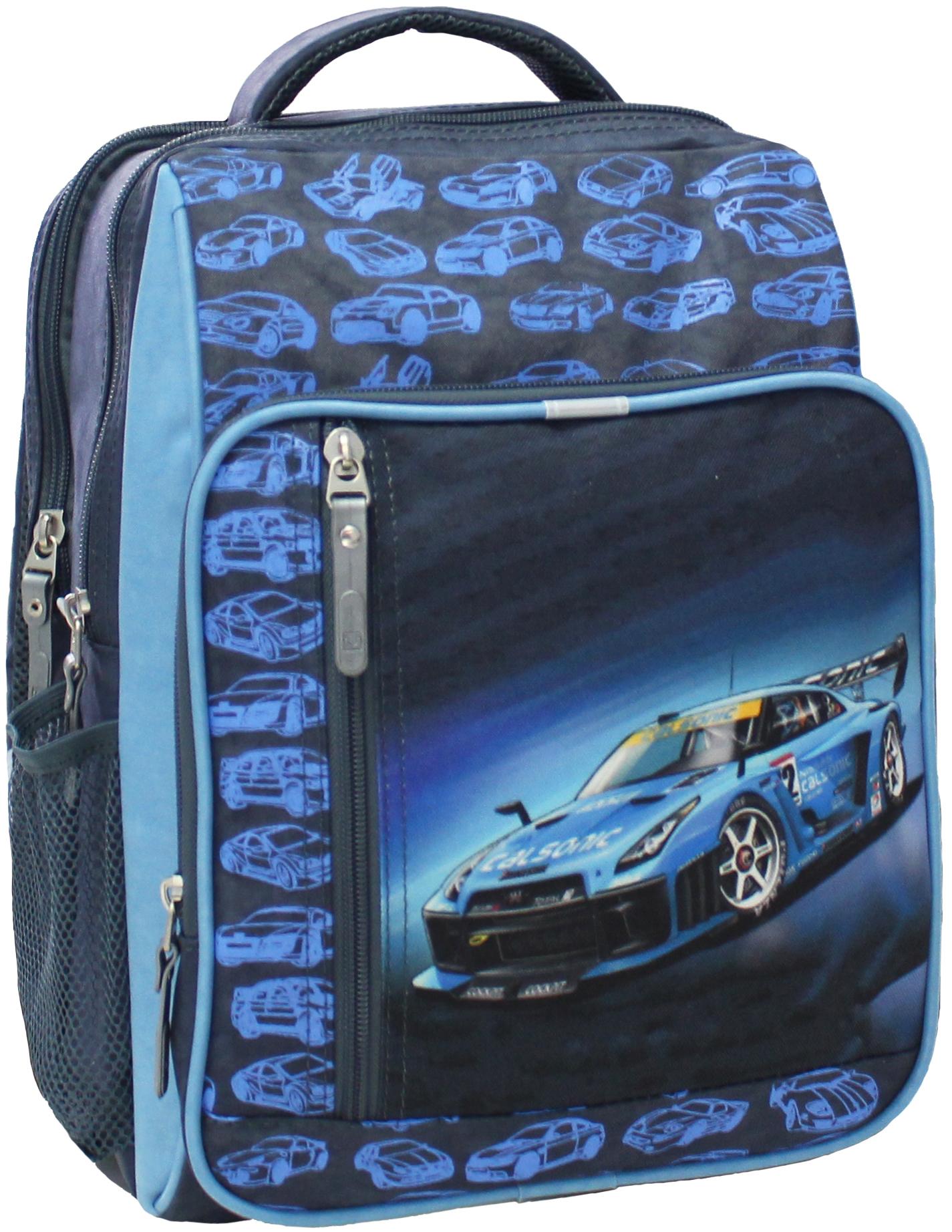 Школьные рюкзаки Рюкзак школьный Bagland Школьник 8 л. 321 сірий 56 м (00112702) IMG_5128.JPG