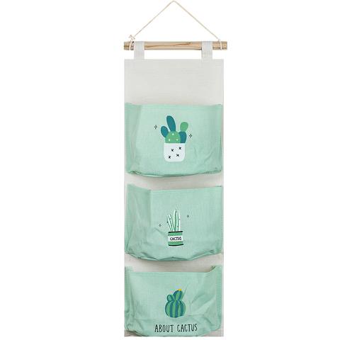Вешалка с кармашками Cactus Mint