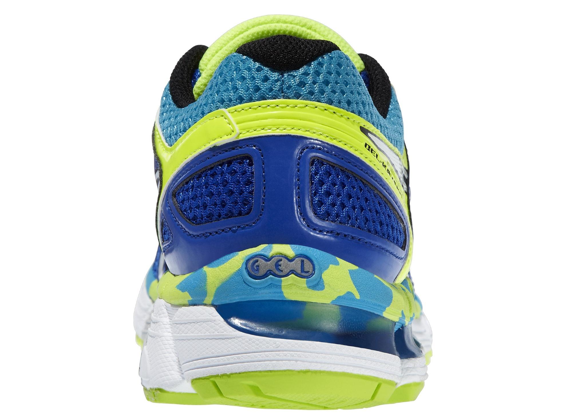 Детская спортивная обувь Asics Gel-Kayano 21 GS (C459N 4201) синие фото