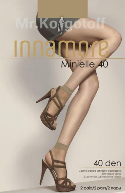 Носки Innamore Minielle Lycra 40 (2 пары)