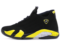 Кроссовки Мужские Nike Air Jordan XIV Retro Black Yellow