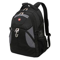 Рюкзак WENGER, цвет черный/серый (3259204410)