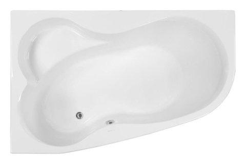 Акриловая ванна VAGNERPLAST MELITE 160 Left
