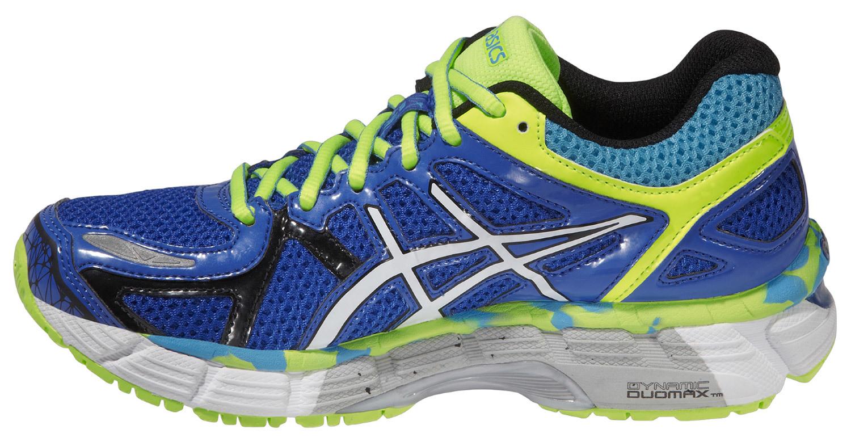 Детская беговая обувь Asics Gel-Kayano 21 GS (C459N 4201) синие фото