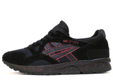Кроссовки Мужские Asics GEL LYTE V Black Suede Blood Speck