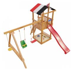 Детская деревянная игровая площадка Амстердам