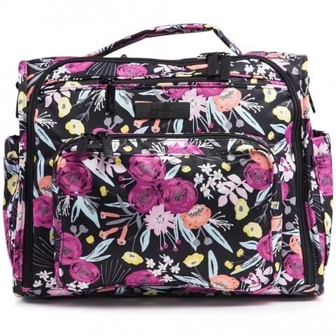 Сумка рюкзак для мамы Ju-Ju-Be B.F.F. Black And Bloom