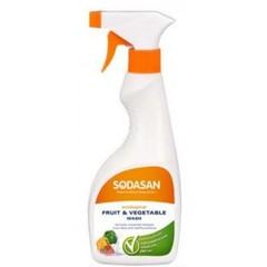 Средство для мытья фруктов и овощей, Sodasan, 500 мл