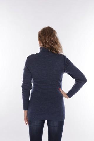 Блузка 09210 синий