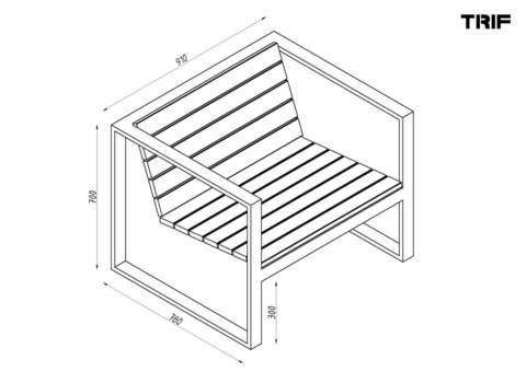 Кресло OUTDOOR