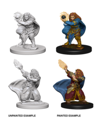 D&D Nolzur's Marvelous Unpainted Miniatures - Dwarf Female Wizard