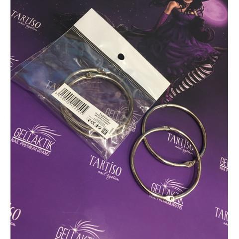 Кольцо металлическое для палитр (2 штуки)