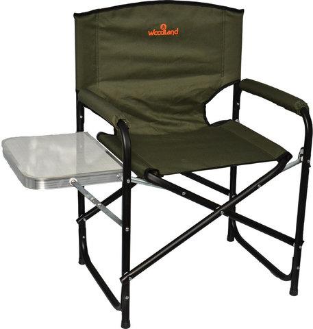 Кресло кемпинговое складное со столиком Woodland Fisherman SK-05
