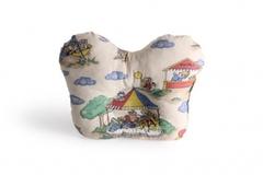 Подушка ортопедическая под голову для детей раннего возраста