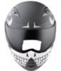 Мотошлем - STREETFIGHTER TRANSFORMER (матовый, черно-белый)