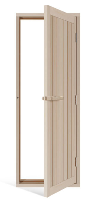 Двери: Дверь SAWO 734-4SA (осина, с порогом, 700*2040 мм)