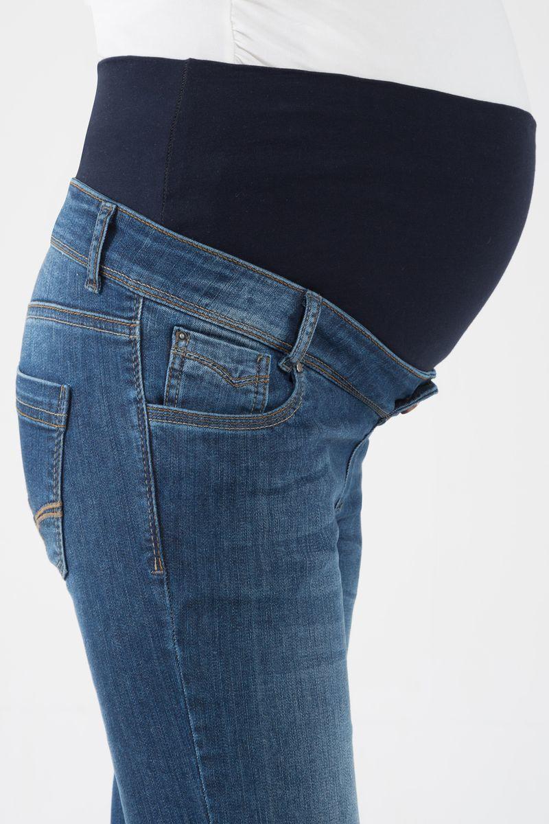 Джинсы для беременных (SLIM) 04001 синий