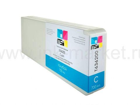 Совместимый картридж ITSinks для Epson Stylus Pro 7700/9700/7890/9890/9900 Cyan 700 ml Pigment (C13T636200)