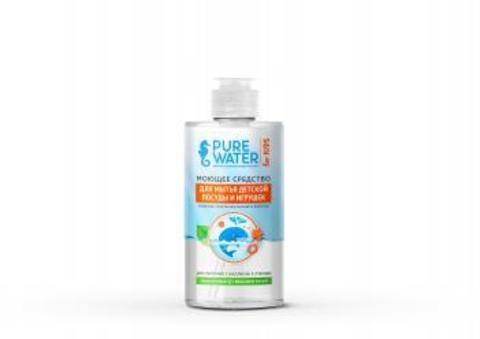 Моющее средство для мытья детской посуды | 450 мл | Pure Water