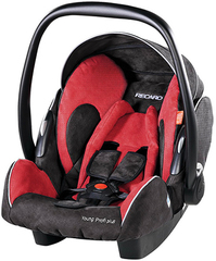 Детское кресло RECARO Young Profi plus (материал верха Trendline Bellini Cherry/Black)
