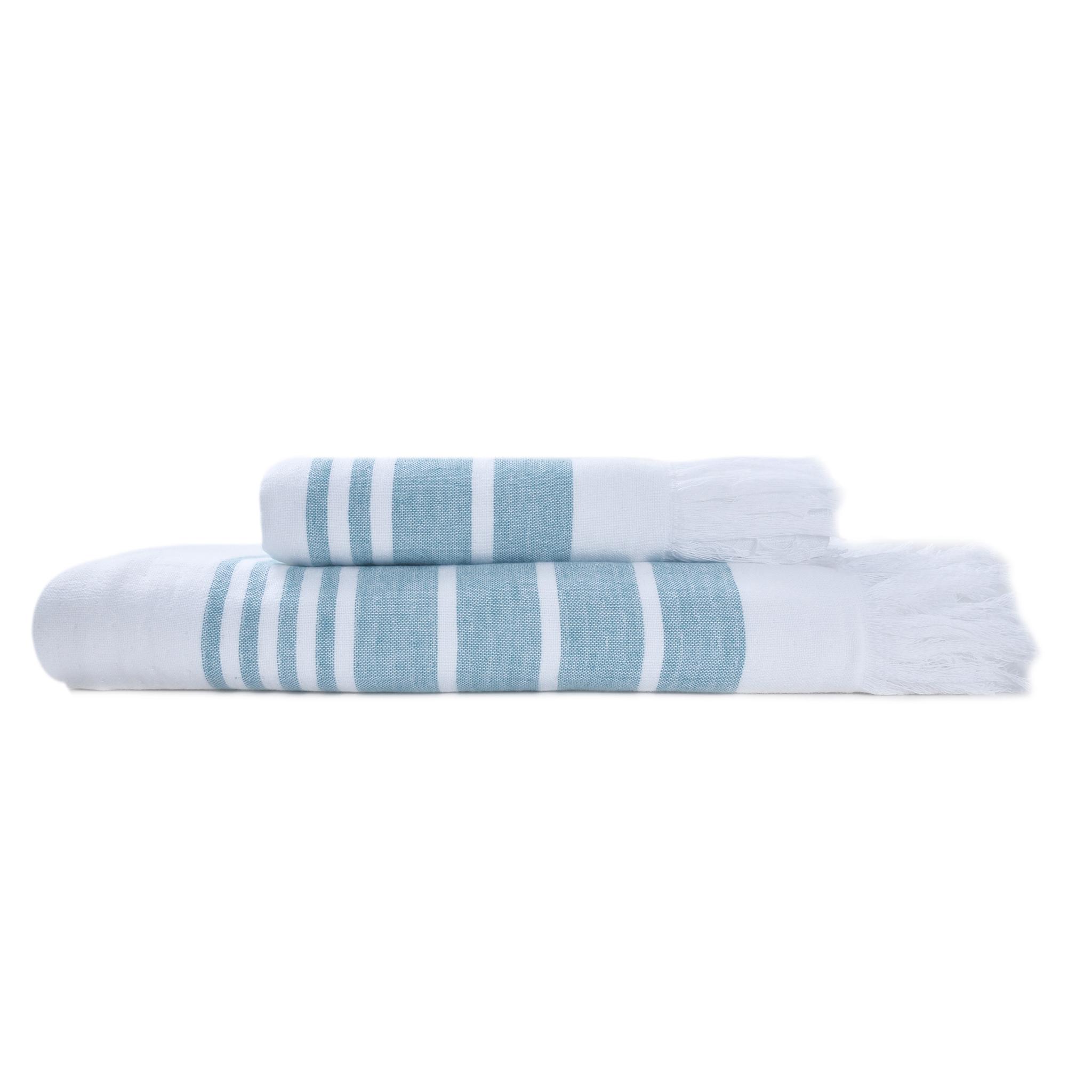 Полотенце 50x100 Hamam Marine Towel бирюзовое