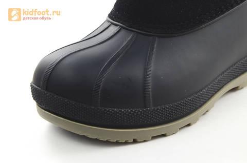 Зимние сапоги для мальчиков непромокаемые с резиновой галошей Звездные войны (Star Wars), цвет черный, Water Resistant. Изображение 11 из 16.