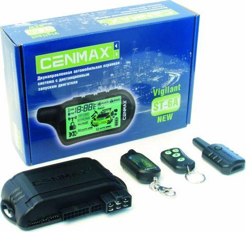 Автосигнализация Cenmax Vigilant ST6 A с автозапуском