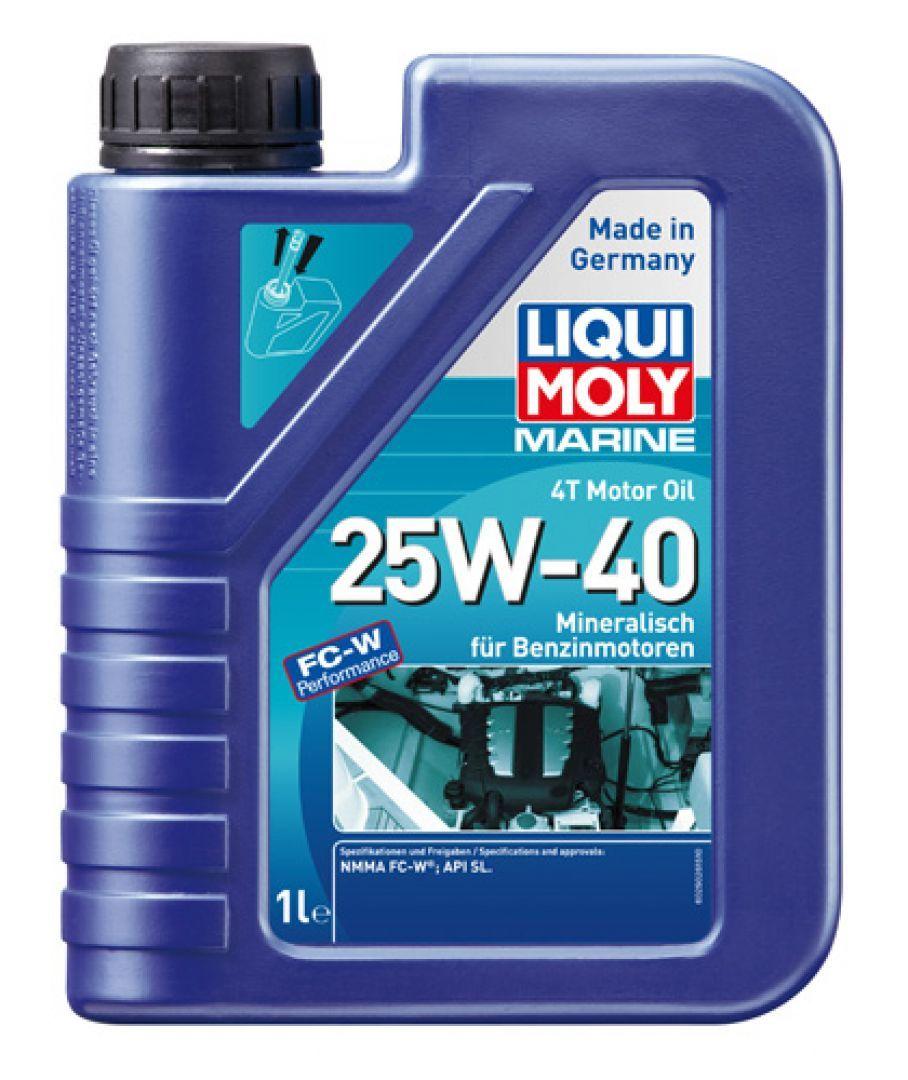 Liqui Moly Marine 4T Motor Oil 25W-40 - Минеральное моторное масло для лодок