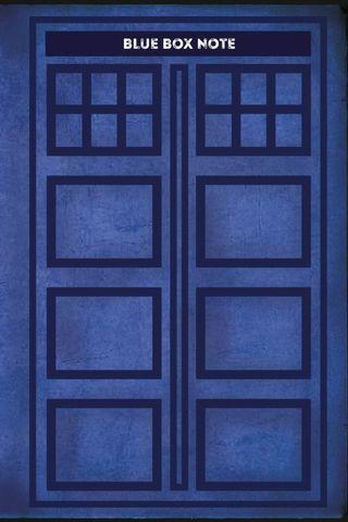 Blue Box Note. Космический блокнот для путешественников во времени